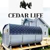 Cedar Life - баня-бочка на заказ.