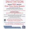 "Attend a FREE ""First Time Home  Buyers"" Seminar"