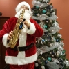 Saxophone party with Santa